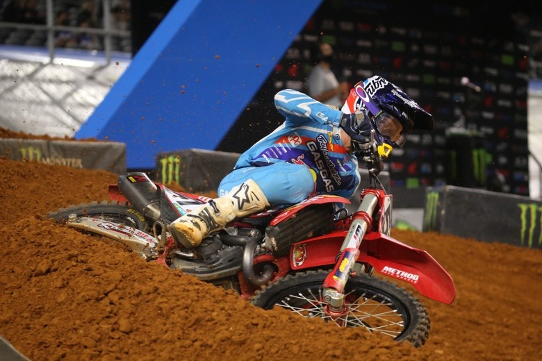 Justin Barcia snagged a second place finish.