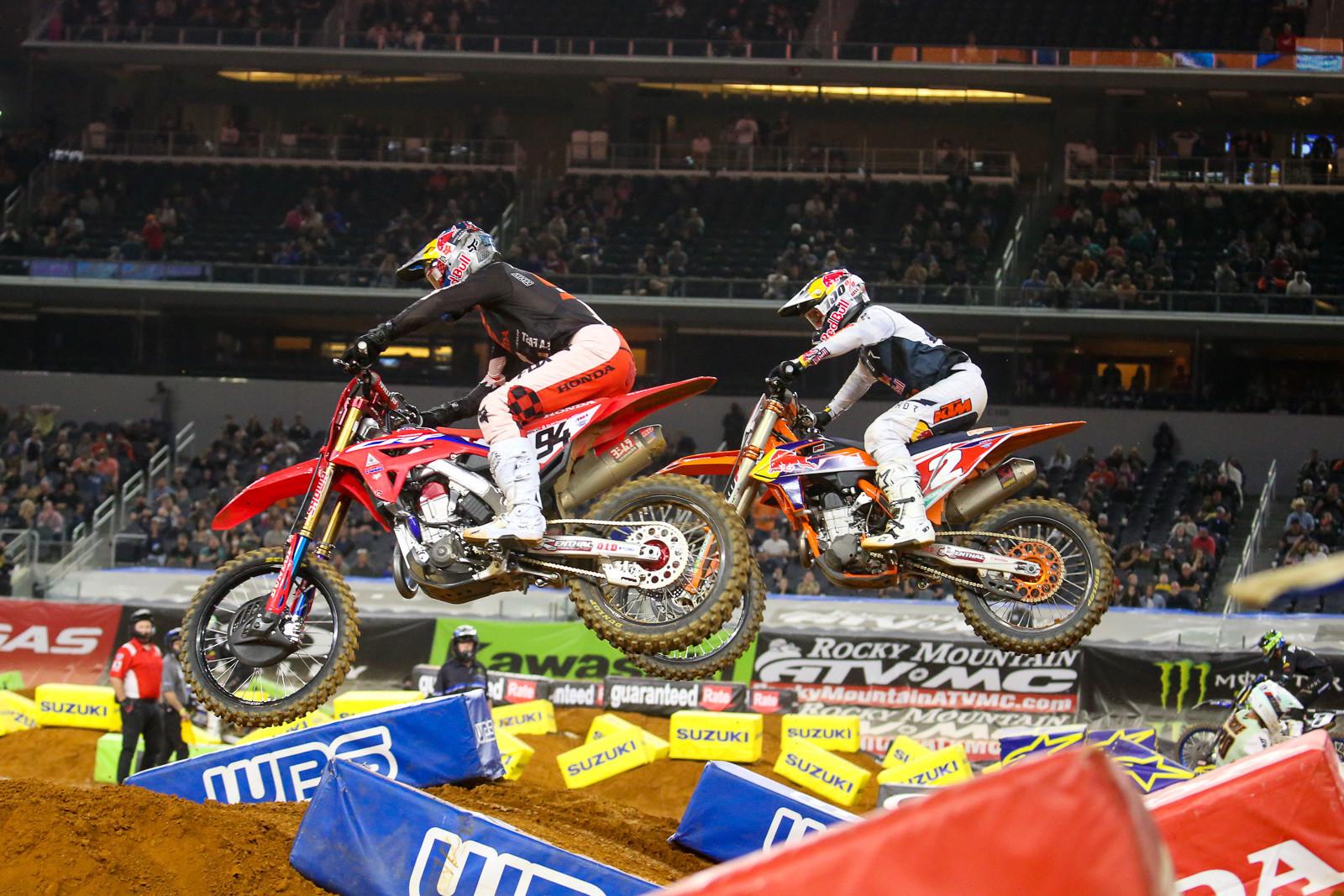 Ken Roczen and Cooper Webb.