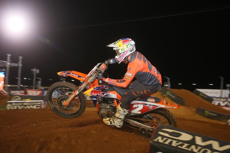Tally up another win for Cooper Webb.