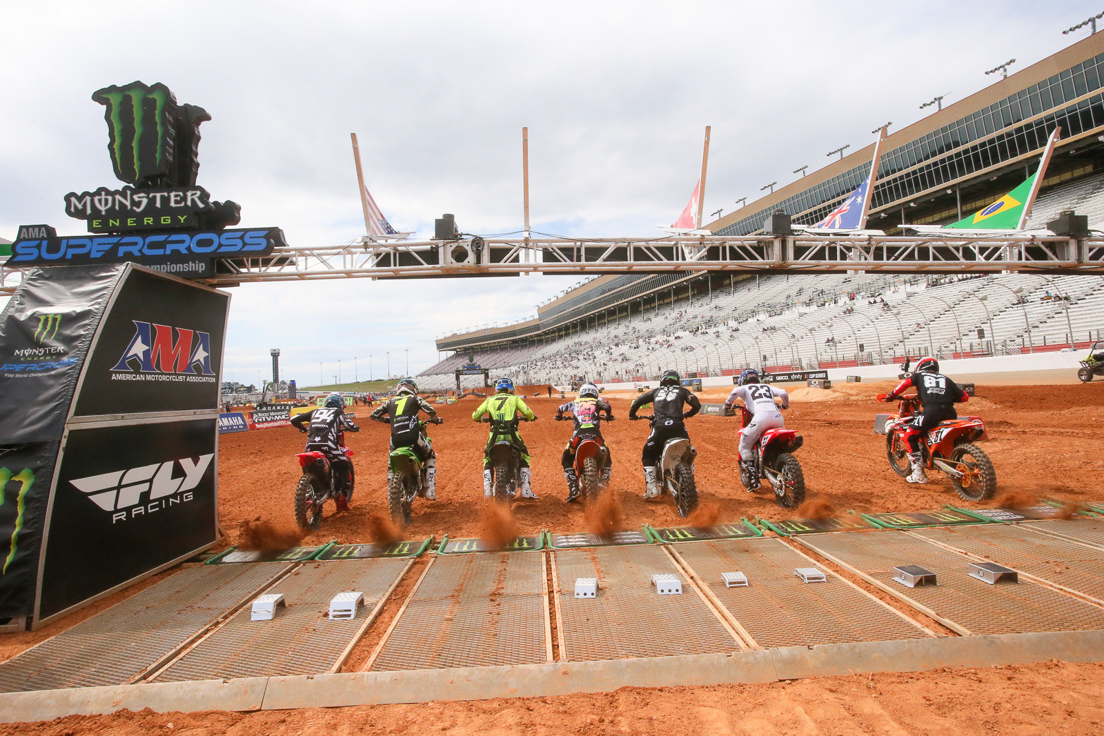 The biggest change to the final round in Atlanta was moving the start. The S-bend through the first couple of corners made for some interesting racing.