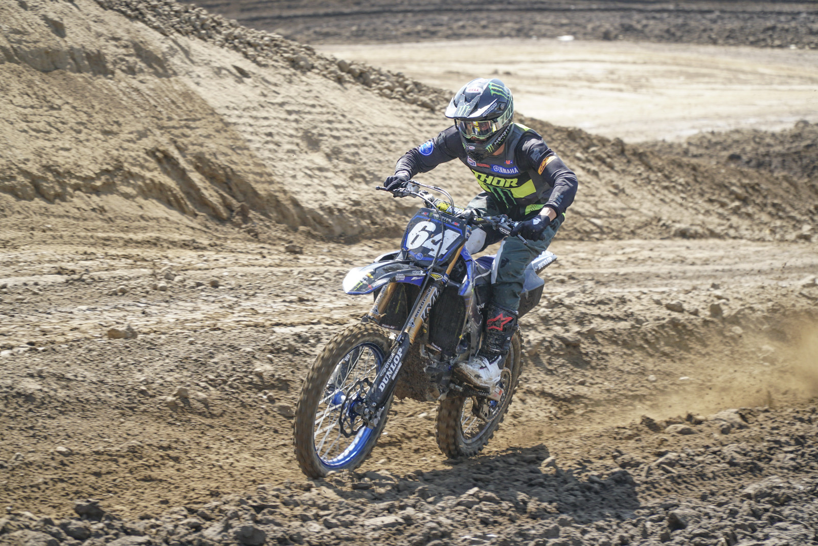 Colt Nichols is the 2021 250 SX East Champion. He's got to be feeling good heading into Fox Raceway.