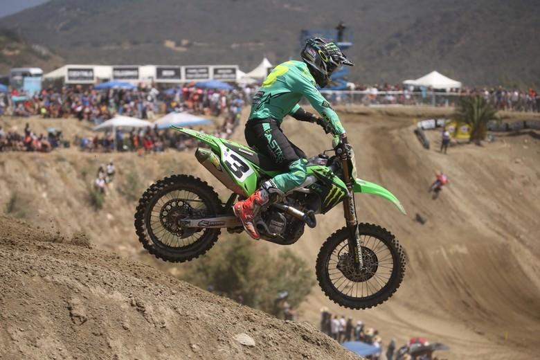 Eli Tomac did not have a great day.