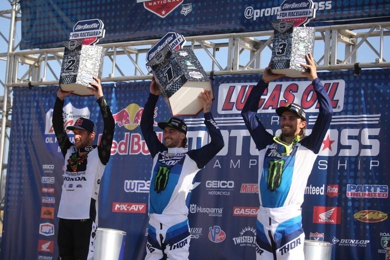 450 podium.