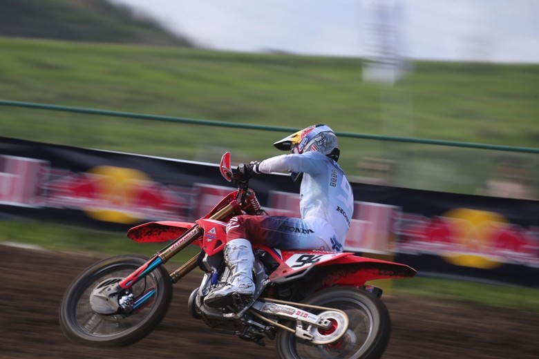 Ken Roczen took the overall win, and the red plate.