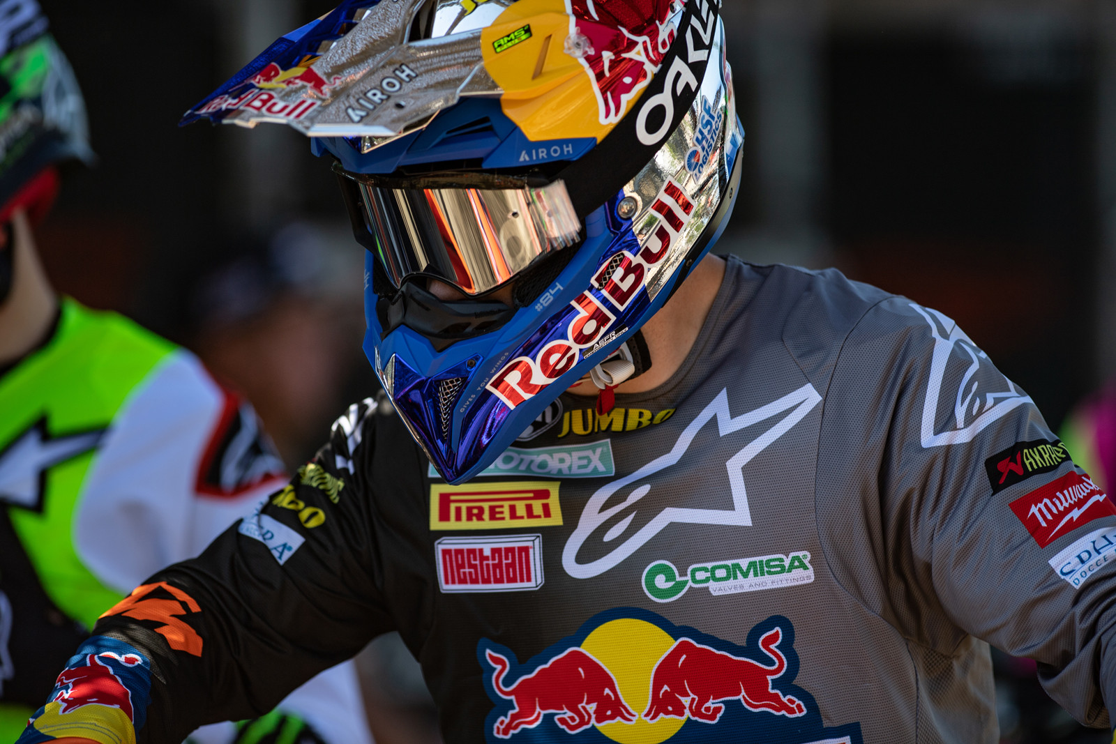 Jeffrey Herlings went 4-2 for second overall. He his still working back to racing form after missing most of last year.