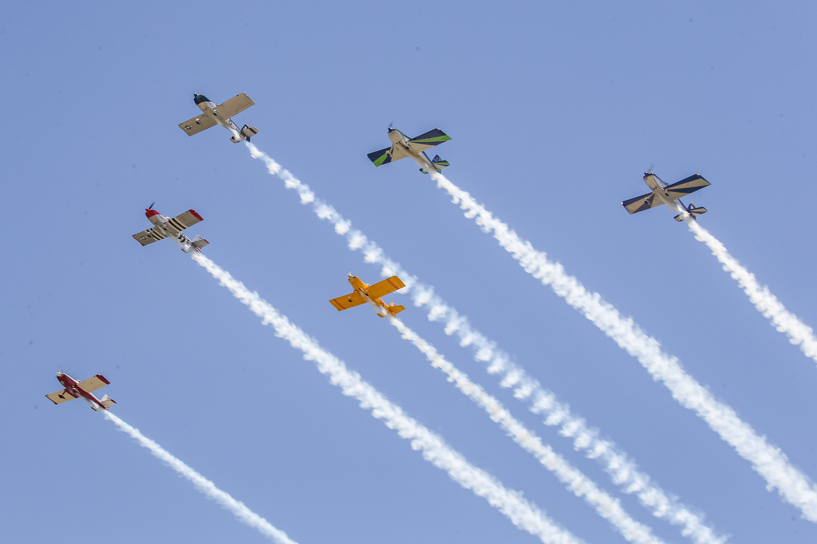 That was a cool fly-over to start the festivities at Thunder Valley.