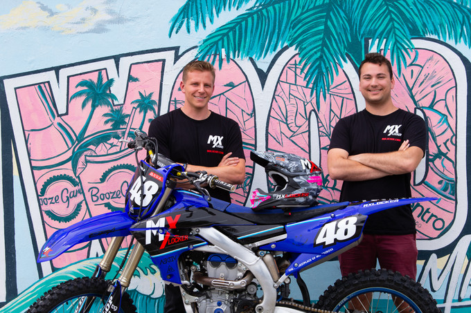 MX Locker is headquartered in Miami, FL. Pictured above is Ryan Amoils (CEO) and Andrew Samole (CTO) of MX Locker.