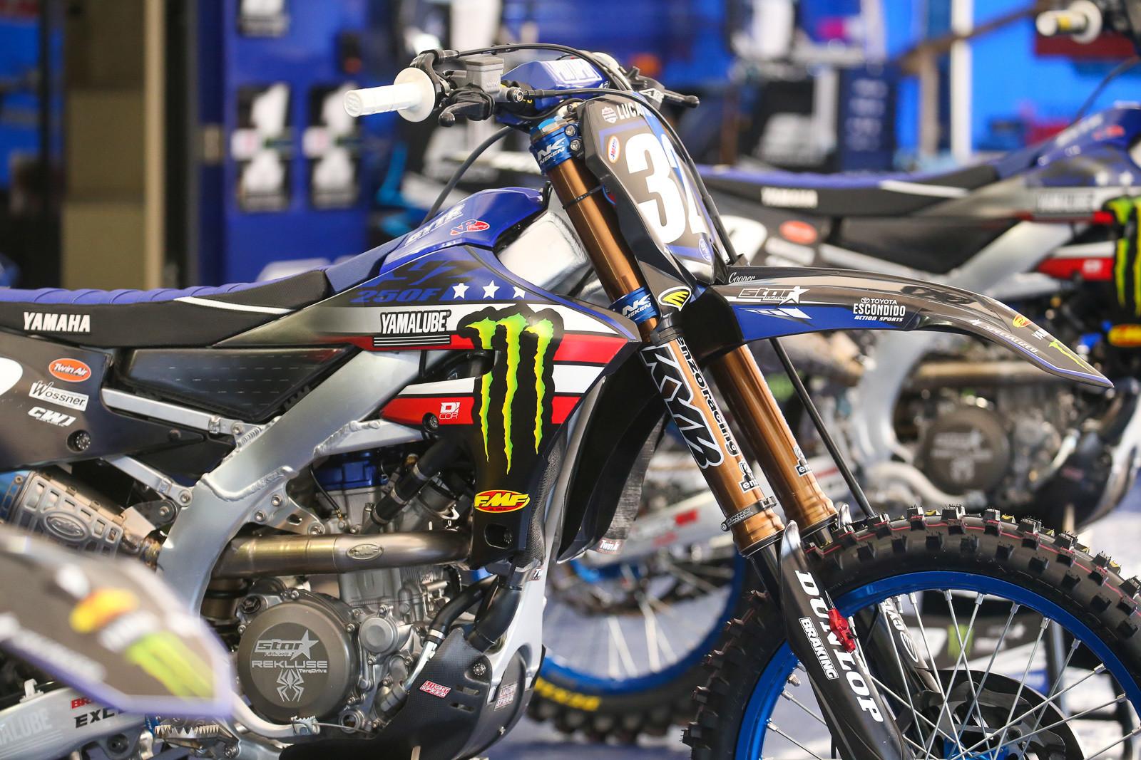 ...and Monster Energy Star Yamaha Racing's bikes.
