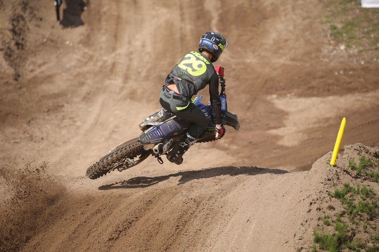 Christian Craig has had a solid outdoor season so far. He finished 11th at Southwick.