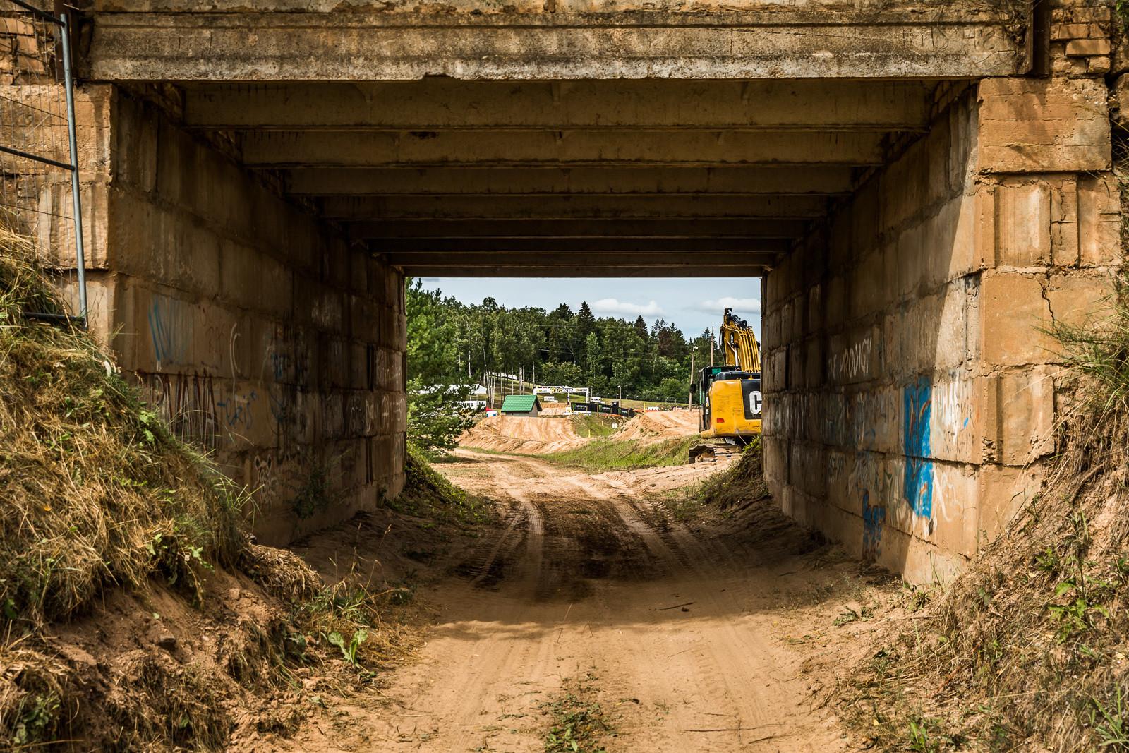 That's one heavy-duty tunnel.