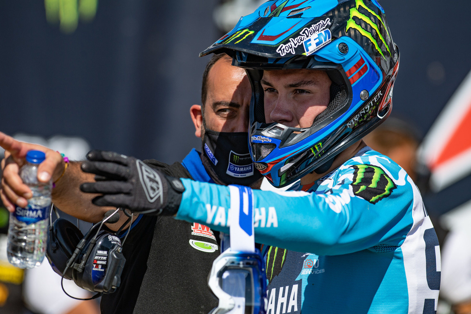 Maxime Renaux was able to keep his commanding points lead in the MX2 class with second overall.