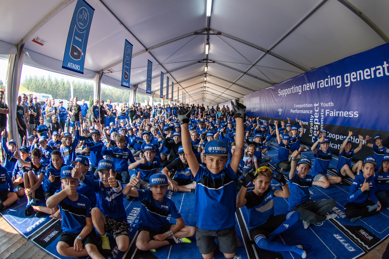 In conjunction with the 2021 Motocross of Nations, there was also the YZ bLU cRU FIM Europe Cup SuperFinale with 65, 85, and 125 classes.