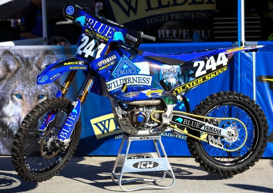Blue Buffalo/Slater Skins/Yamaha