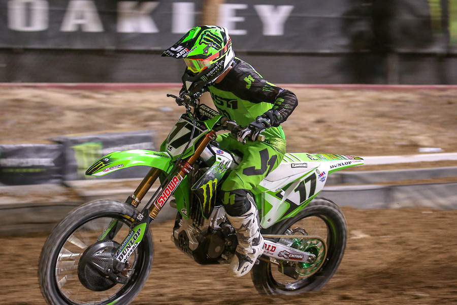 Monster Energy Kawasaki