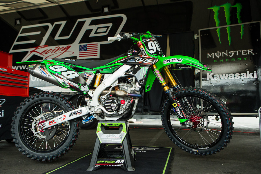 Bud Racing Kawasaki Monster Energy Team