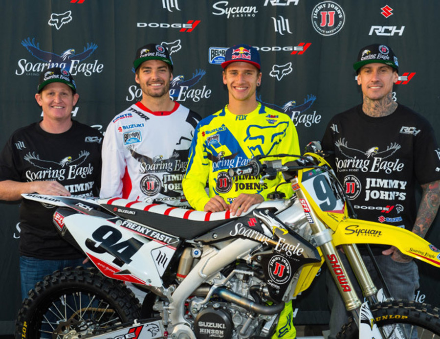 RCH Soaring Eagle/Jimmy Johns/Suzuki Factory Racing