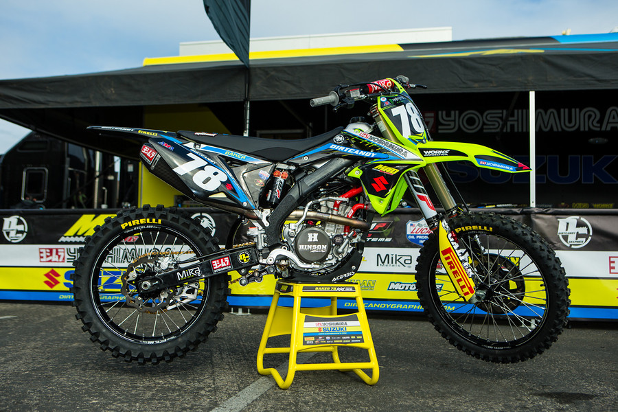 Mad Racing/Yoshimura/Dirt Candy Graphics/Suzuki