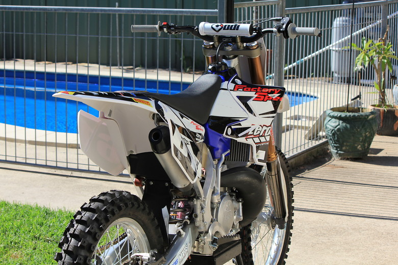 Factory Spec Suspension YZ250