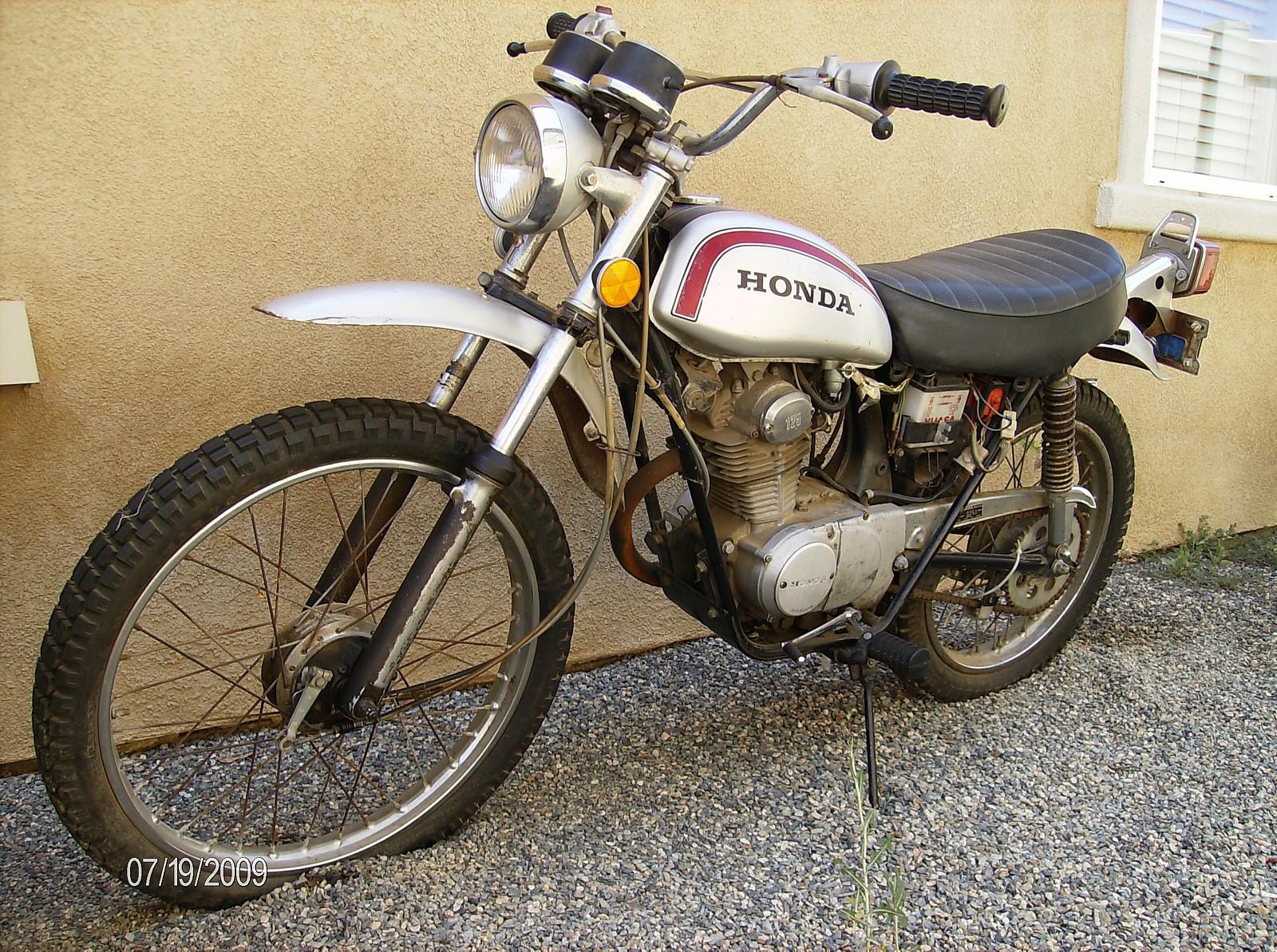 1973 Honda SL125 in 2009 so cal - racerxusa - Motocross Pictures - Vital MX