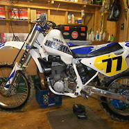 1992 Yamaha YZ500ZD Air Hammer! Conversion to YZ250 tank/spoilers