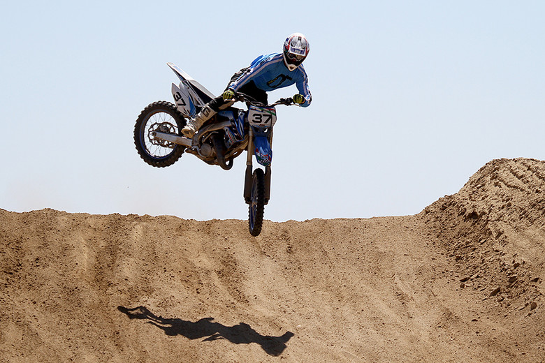 The TM MX 125 is very flickable, both on the ground and in the air.