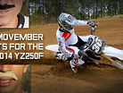 7 Movember Facts About the 2014 YZ250F