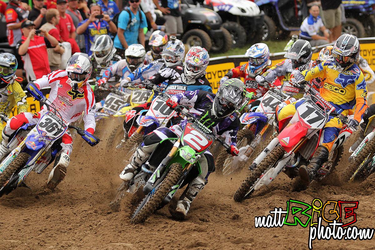 Ryan Villopoto Holshots Moto 1 at Southwick. - 47RicePhoto - Motocross Pictures - Vital MX