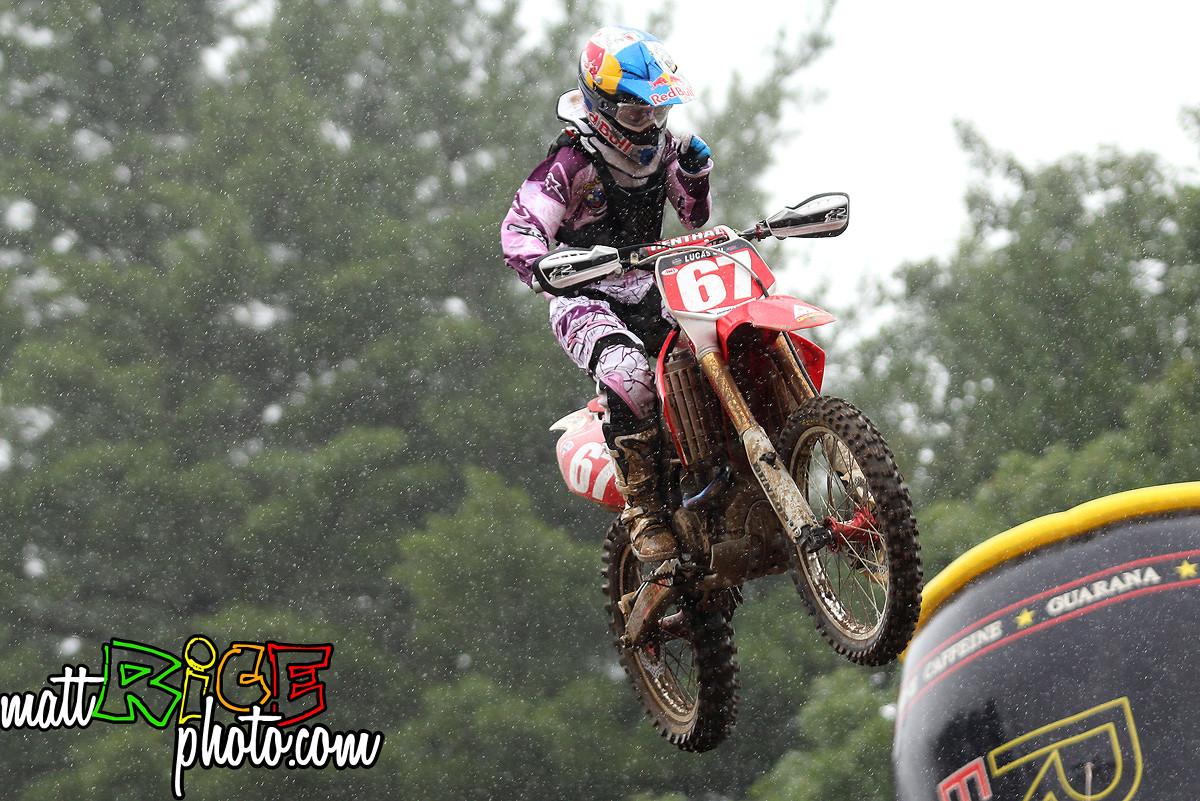 Ashley Fiolek in the Rain. - 47RicePhoto - Motocross Pictures - Vital MX