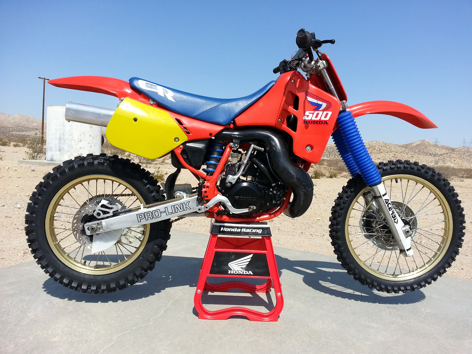 1987 Honda CR500 - yz450fpilot's Bike Check