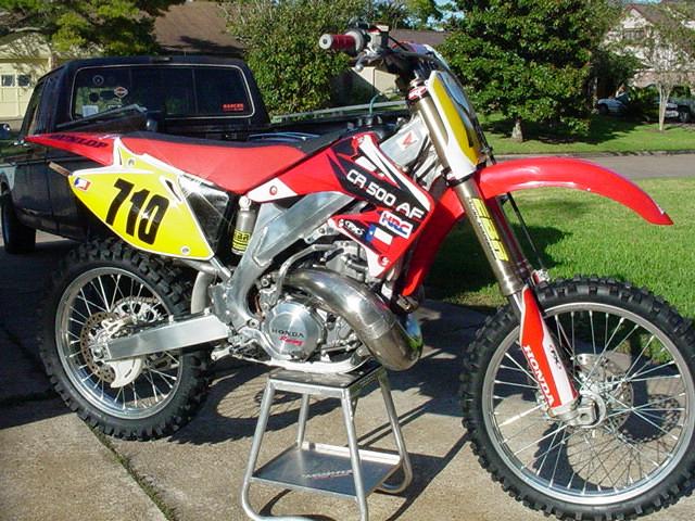 My cr500 aluminum frame jbird710 motocross pictures for South motors honda service