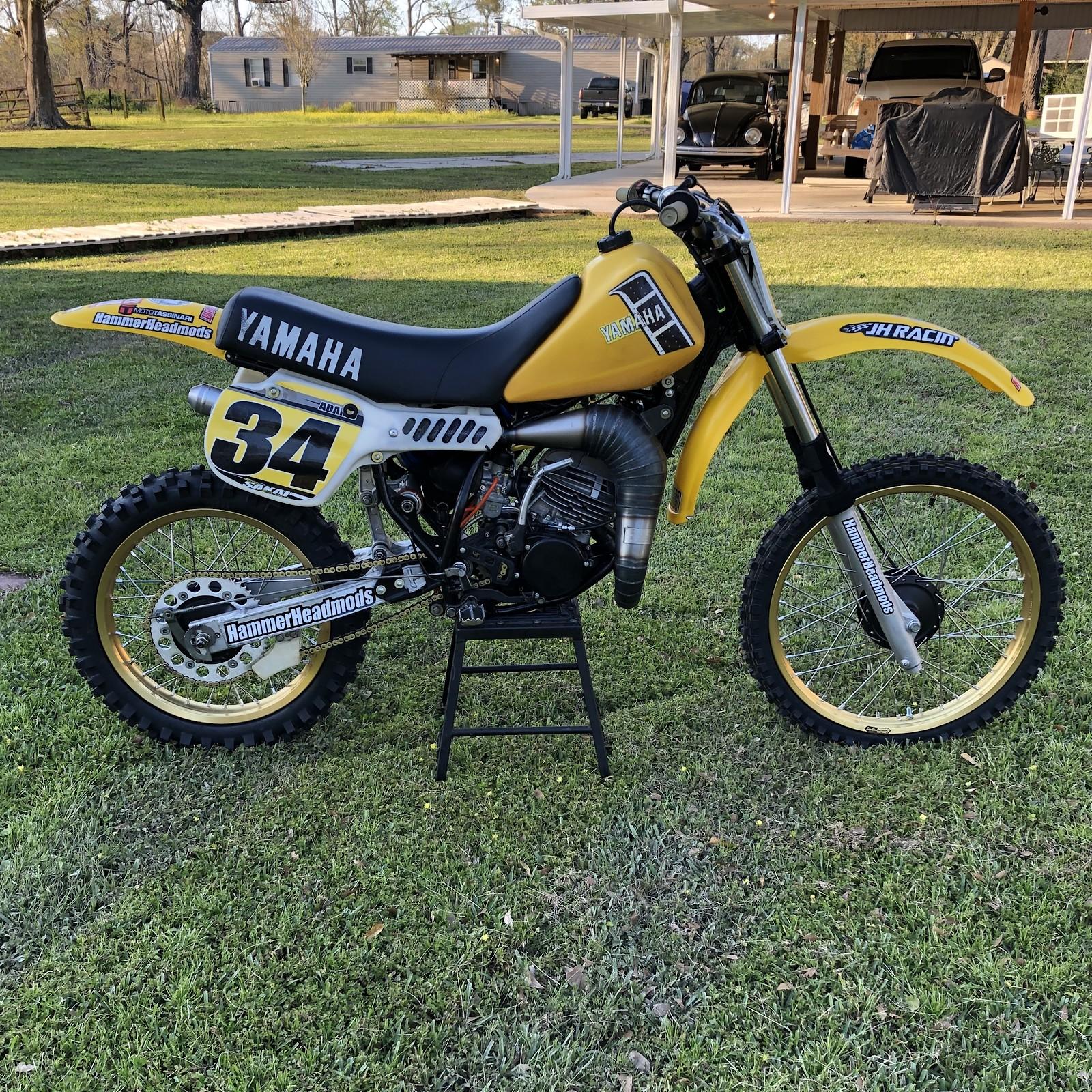 1982 Yamaha OW100 Factory Edition