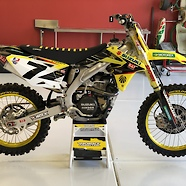 2013 RM-Z 450 - James Stewart Factory Bike Replica
