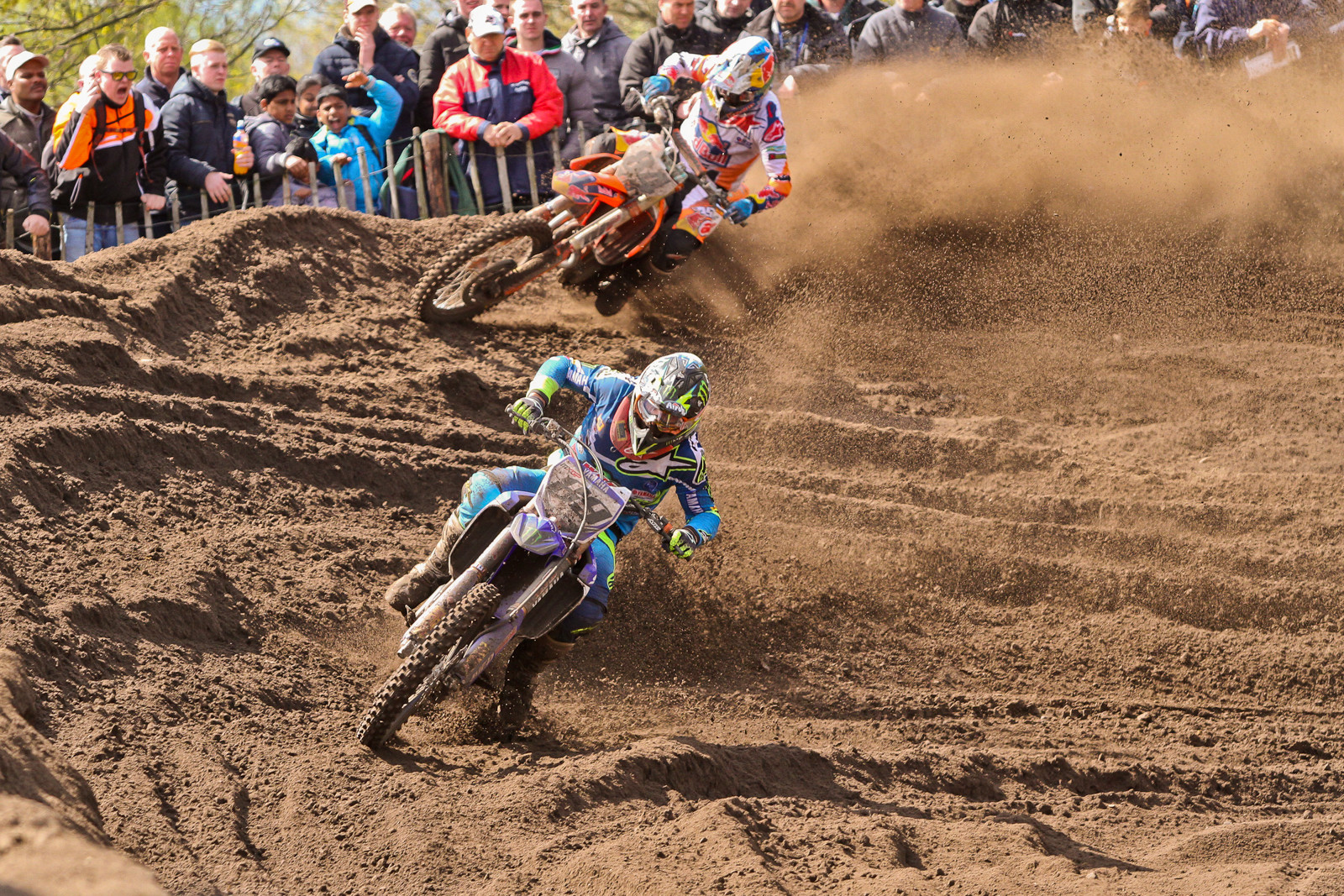 Jeremy van Horebeek / Jeffrey Herlings - Photo Blast: 2017 MXGP of Valkenswaard - Motocross Pictures - Vital MX