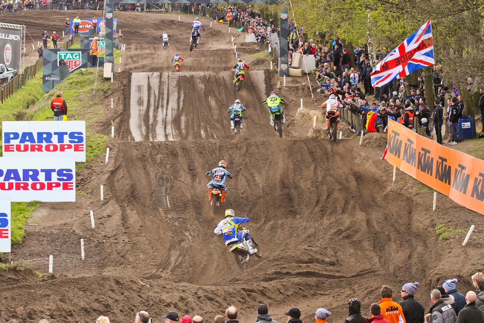 MXGP Battling - Photo Blast: 2017 MXGP of Valkenswaard - Motocross Pictures - Vital MX