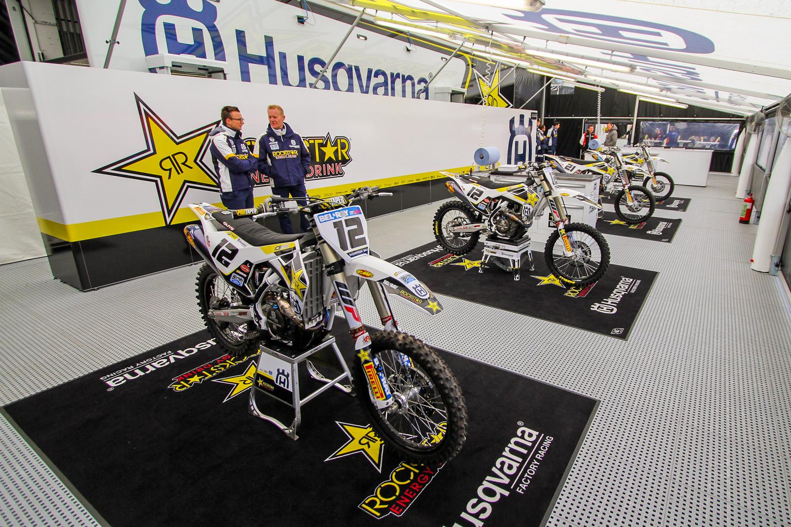 Rockstar Energy Husqvarna Racing - Vital MX Pit Bits: 2017 MXGP of Valkenswaard - Motocross Pictures - Vital MX