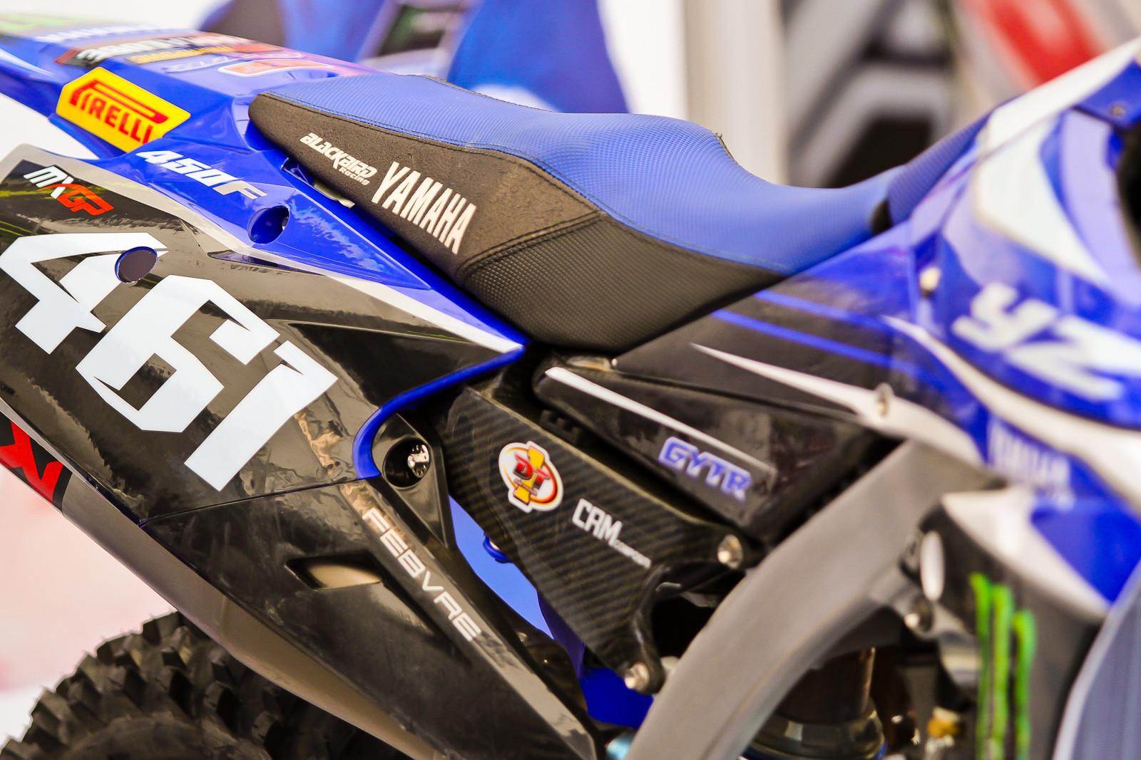 Romain Febvre's Seat - Vital MX Pit Bits: 2017 MXGP of Valkenswaard - Motocross Pictures - Vital MX
