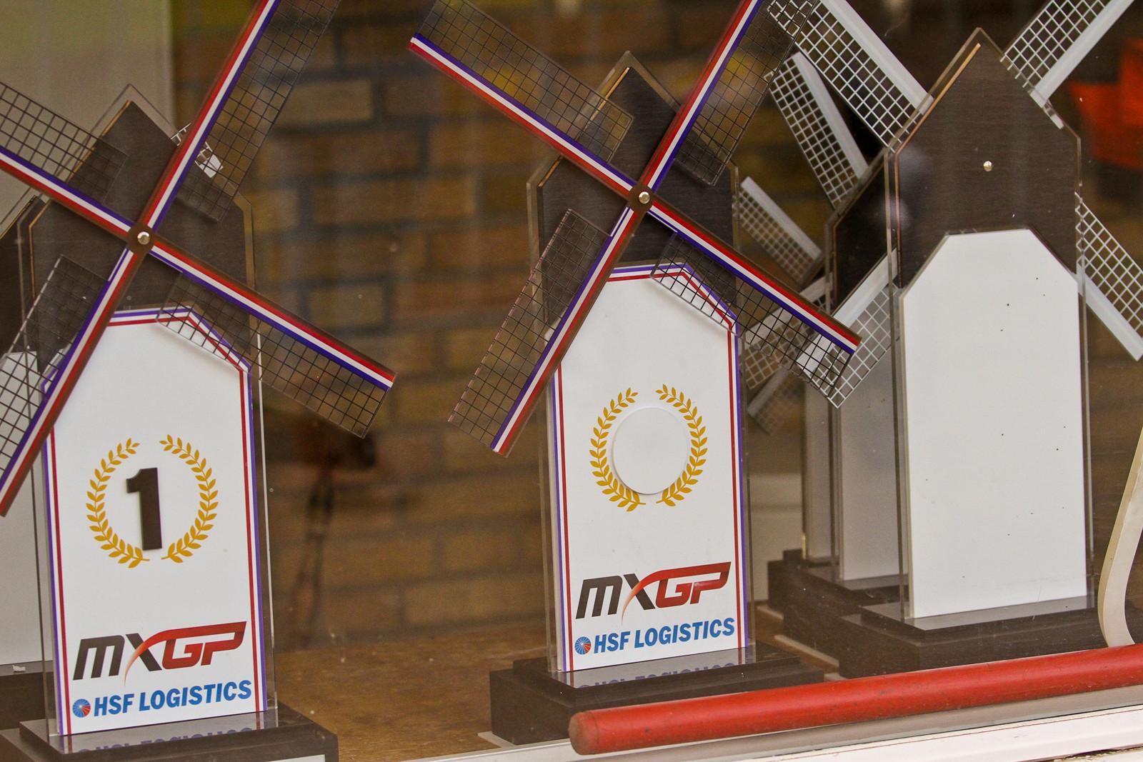 Valkenswaard Trophies - Vital MX Pit Bits: 2017 MXGP of Valkenswaard - Motocross Pictures - Vital MX
