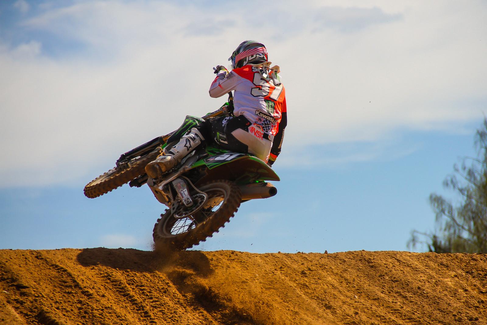 Darian Sanayei - Photo Blast: 2017 MXGP of Latvia - Motocross Pictures - Vital MX