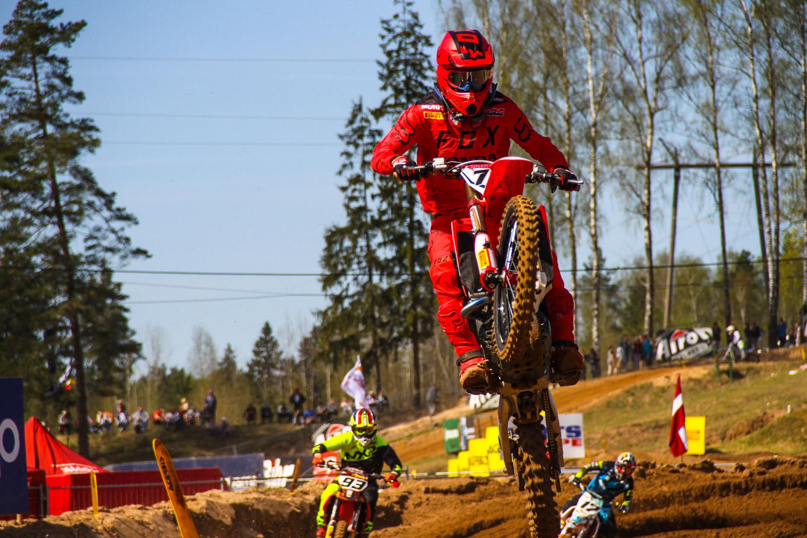 Evgeny Bobryshev - Photo Blast: 2017 MXGP of Latvia - Motocross Pictures - Vital MX