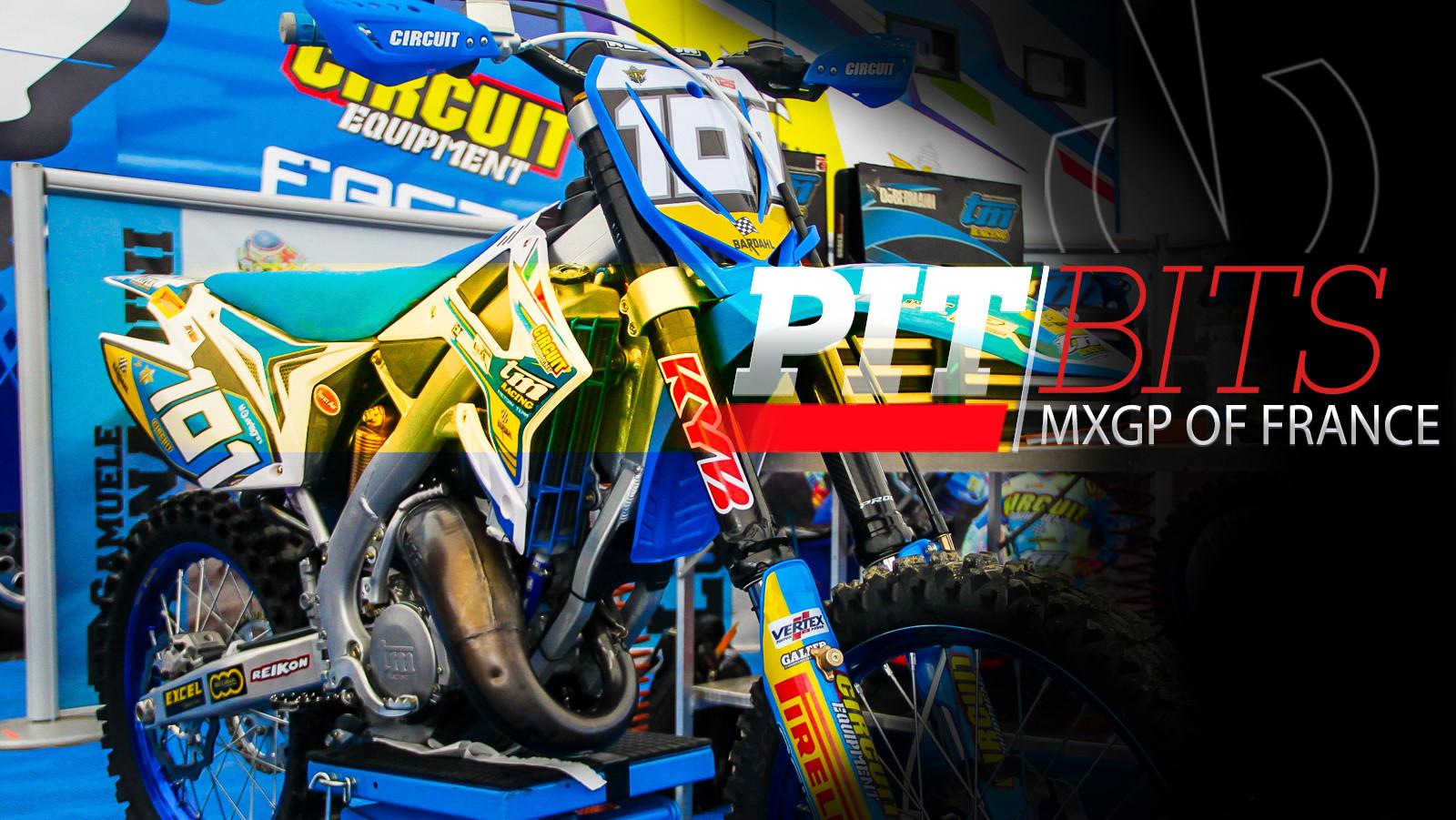 Pit Bits: MXGP of France - TM 125 - Vital MX Pit Bits: 2017 MXGP of France - Motocross Pictures - Vital MX