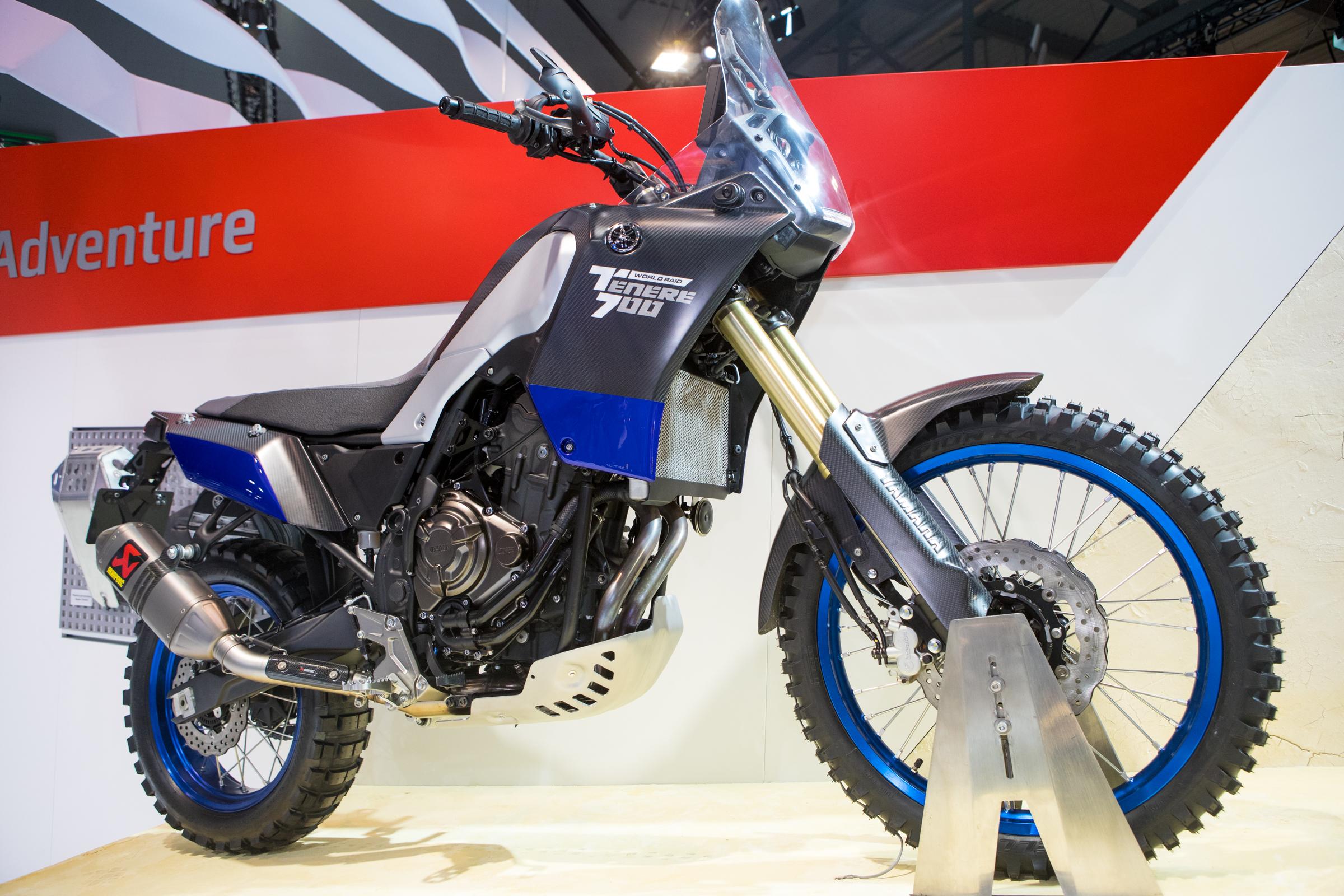 Yamaha 39 s tenere 700 world raid 2017 eicma milan for Yamaha 700 tenere