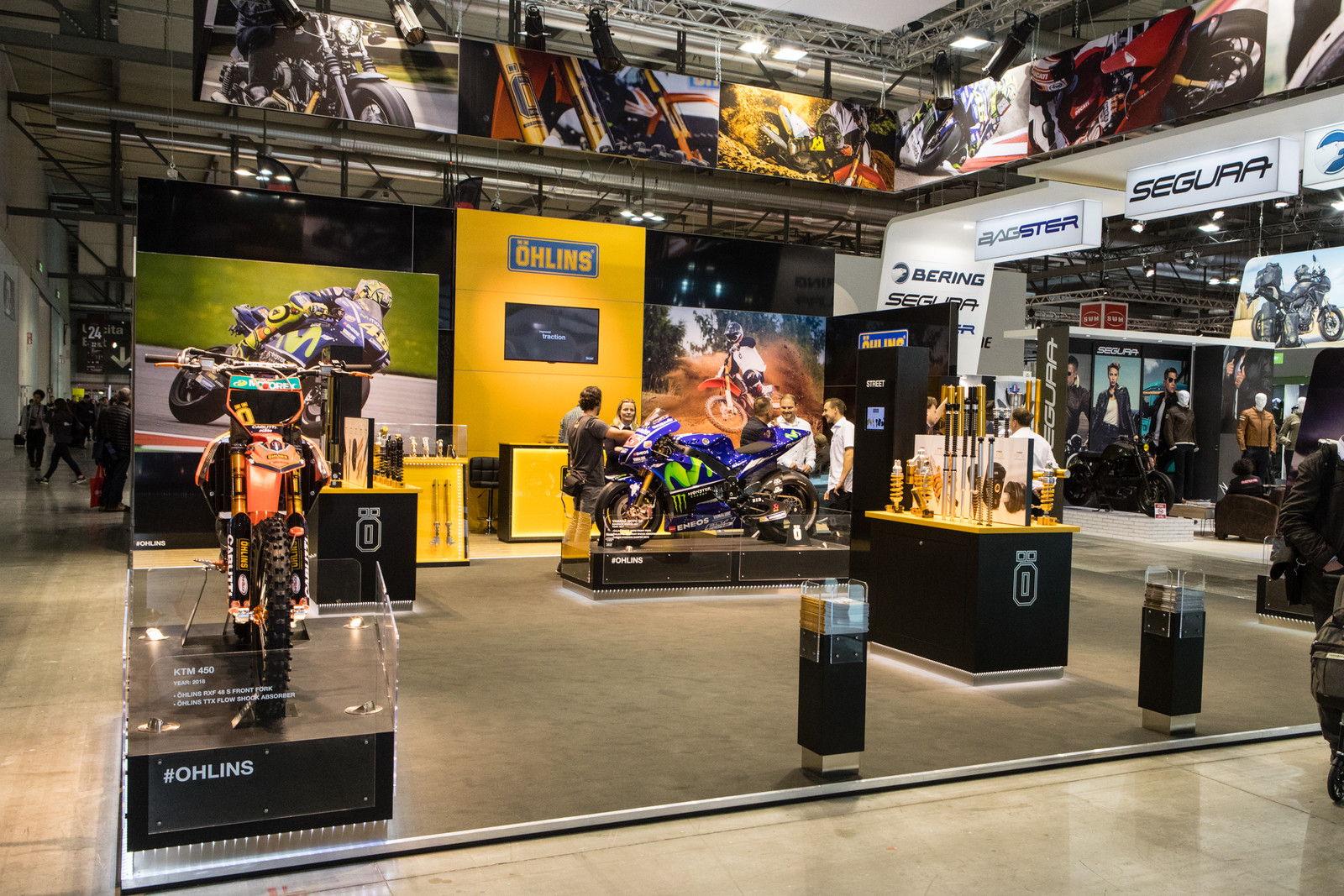 Ohlins - 2017 EICMA - Milan Motorcycle Show: Chapter Two - Motocross Pictures - Vital MX
