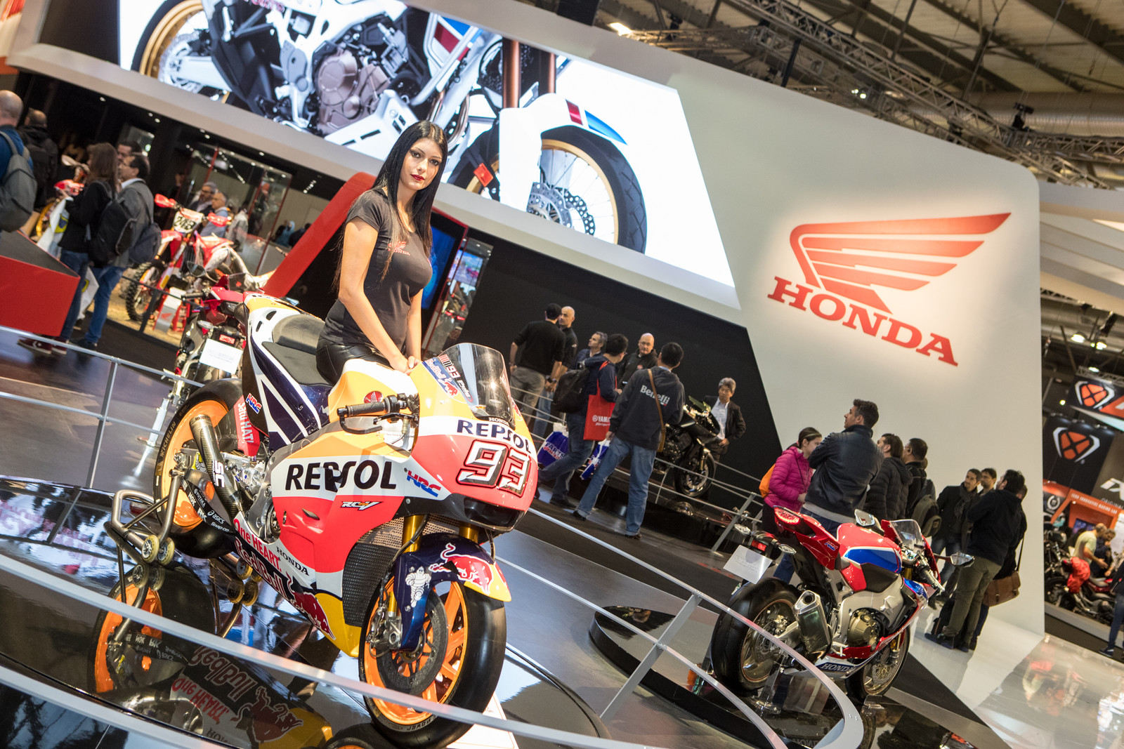 Honda at EICMA - 2017 EICMA - Milan Motorcycle Show: Chapter Two - Motocross Pictures - Vital MX