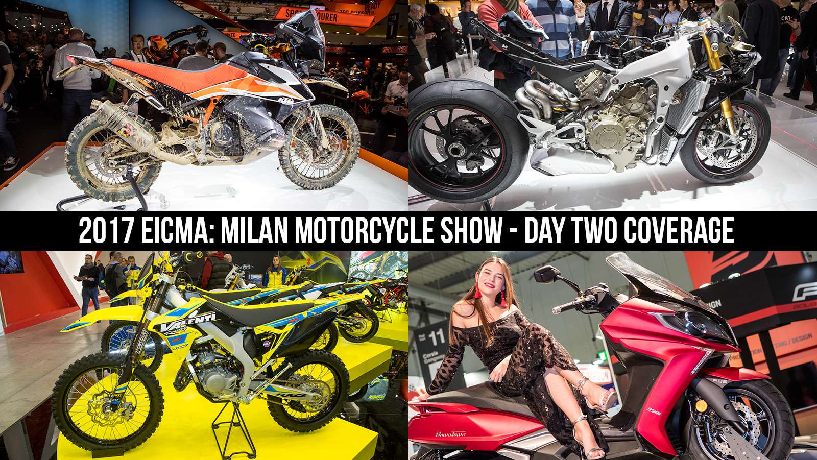 2017 EICMA: Milan Motorcycle Show - Day Two Coverage - 2017 EICMA - Milan Motorcycle Show: Chapter Two - Motocross Pictures - Vital MX