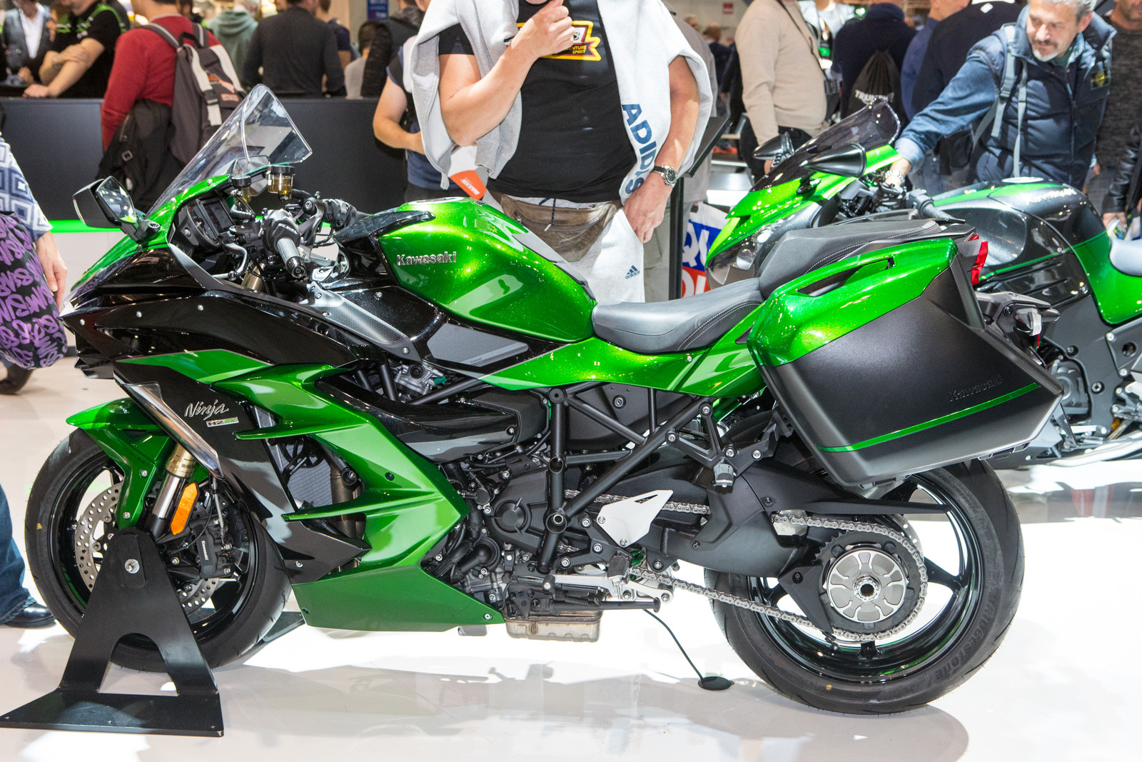 Kawasaki Ninja H2-SX - 2017 EICMA - Milan Motorcycle Show: Wrap-Up Coverage - Motocross Pictures - Vital MX