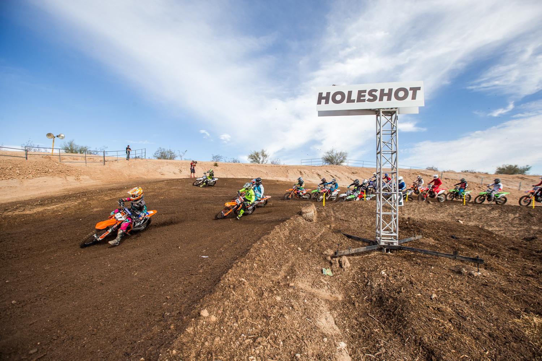 Holeshot - Gallery: 2017 AMA Arizona Open Amateur National - Friday - Motocross Pictures - Vital MX