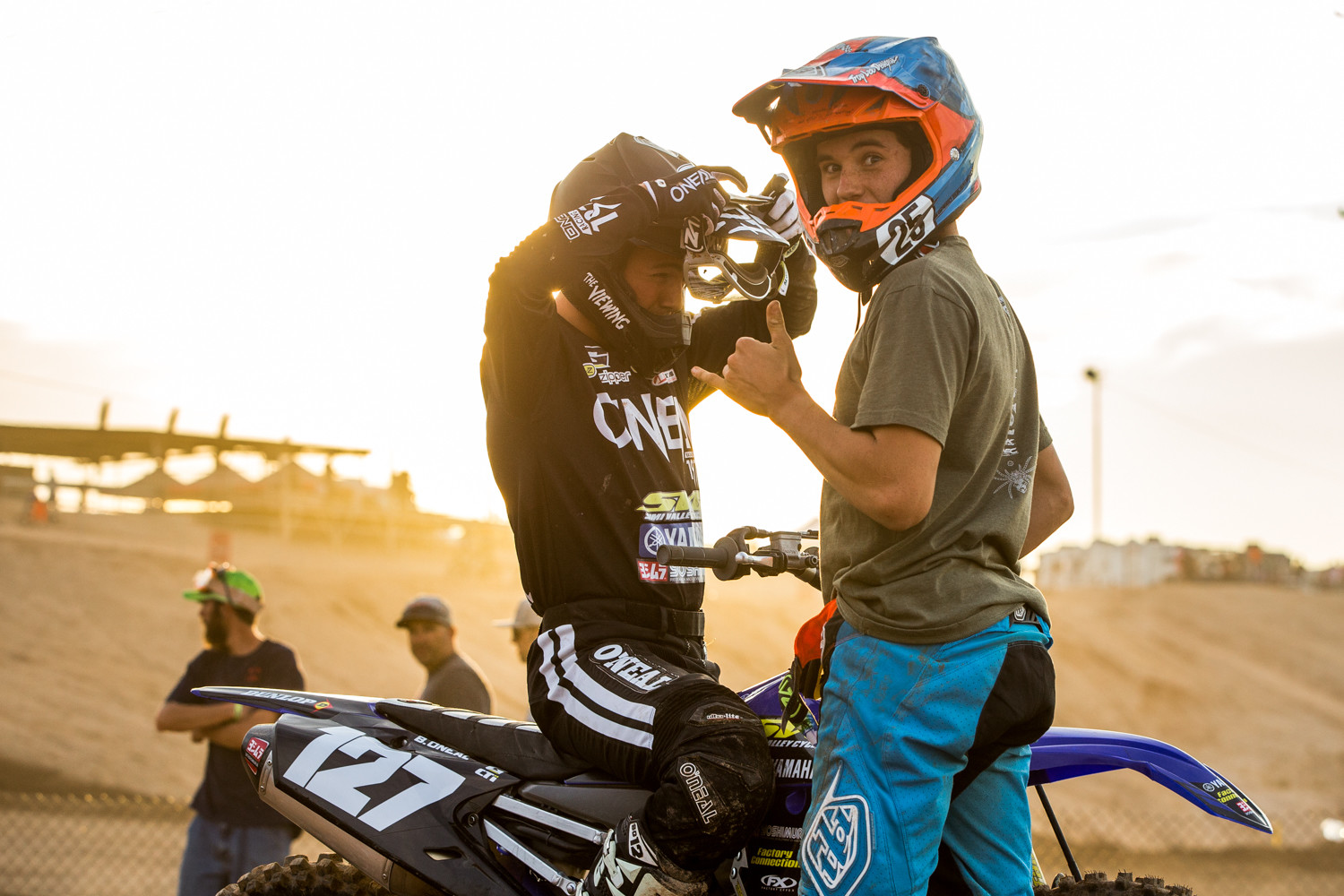 Braden O'Neal and Max Lee - Gallery: 2017 AMA Arizona Open Amateur National - Friday - Motocross Pictures - Vital MX