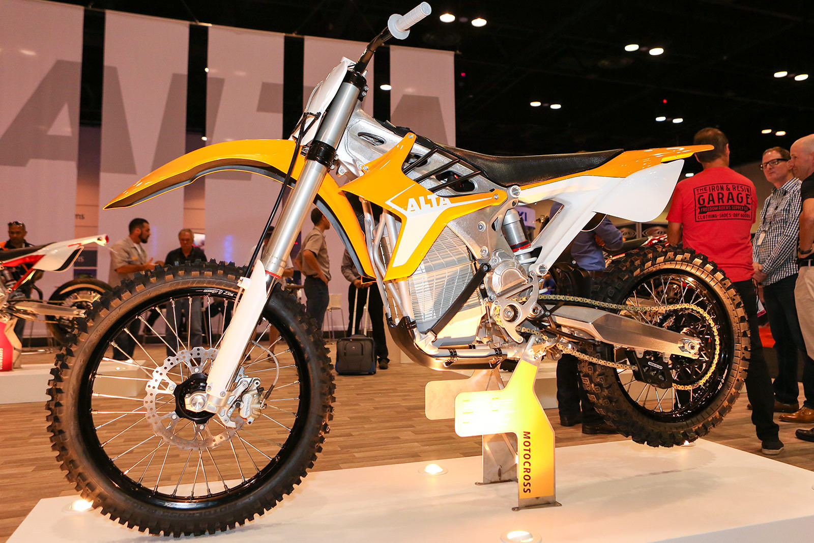 Alta Electric Bikes American International Motorcycle Expo Aime Day 3 4 Motocross Pictures Vital Mx