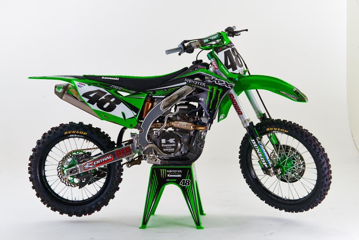 S Kawasaki Dirt Bike Commercials