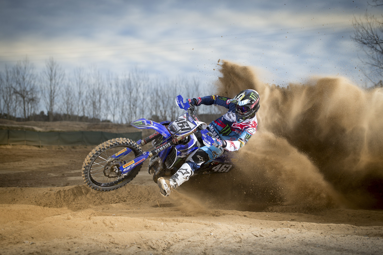Romain Febvre - First Look: 2016 Monster Energy Yamaha YZ450FM - Motocross Pictures - Vital MX